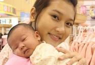Hoa hậu ảnh Cao Thanh Hằng sinh con tại Mỹ
