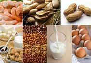 5 nhóm thực phẩm dễ khiến trẻ dị ứng