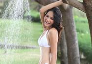 Hương Giang mừng vui vì được dự thi Hoa hậu Thế giới 2009