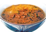 Thực đơn bữa tối: Thịt bò nấu khế