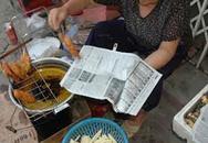 Ăn thực phẩm gói trong giấy báo có thể bị giảm trí nhớ