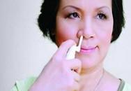 Xịt mũi thường xuyên có thể gây hại