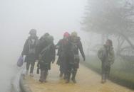 Nhiệt độ Sa Pa giảm còn 1,5 độ C, các trường nghỉ học tránh rét