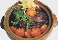Thực đơn bữa tối: Thịt bò hầm nước dừa