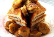 Học làm bánh: Bánh mì chiên chuối