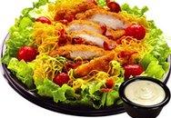 Món ngon hàng ngày: Salad gà nướng