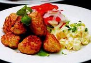 Thực đơn bữa trưa: Salad thịt viên