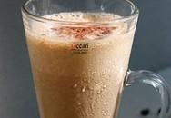 Đồ uống ngon cuối tuần: Cà phê chuối