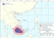 Áp thấp nhiệt đới trái mùa gây mưa to ở Nam Trung Bộ