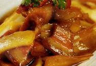 Thực đơn bữa tối: Thịt ba chỉ kho dừa