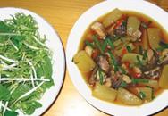 Hương vị quê nhà: Cá lóc kho củ cải
