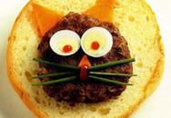 Thực đơn cho bé: Bánh mì mèo con
