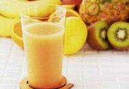 Đồ uống Tết: Nước ép cam dứa