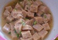 Thực đơn cho bé ngày Tết: Thịt heo xay xốt chua ngọt