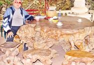 Bộ bàn ghế gỗ gù hương 4.000 năm tuổi