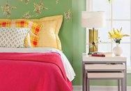 Phòng ngủ sắc màu đón xuân