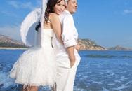 Siêu mẫu Ngọc Hà khoe ảnh cưới lãng mạn tại Trung Quốc