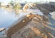 Sập đường dẫn cầu ở Cần Thơ, 2 người chết