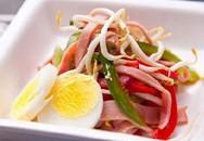 Món ngon cuối tuần: Salad thịt nguội