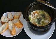 Món ngon cuối tuần: Hải sản cà ri xanh