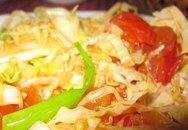 Bắp cải xào chua