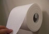 Quấn giấy vệ sinh quanh đầu để đi ăn trộm