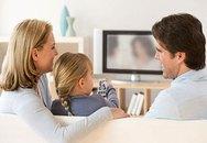 Để tivi không gây hại cho trẻ nhỏ!