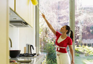 Bí quyết khử sạch mùi hôi trong bếp
