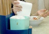Giấy ăn: Càng trắng, càng độc
