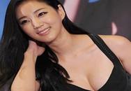 Cựu hoa hậu xứ Hàn khoe vòng một