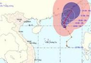Bão số 4 đang mạnh dần lên trên biển Đông