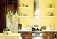 Nhà đẹp nhờ sắc vàng ấm áp
