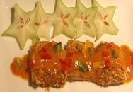 Bò tẩm bột xốt chua cay