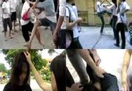 Khủng khiếp chuyện nữ sinh đánh nhau
