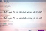 Thác loạn chat sex
