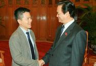 Thủ tướng Nguyễn Tấn Dũng tiếp GS Ngô Bảo Châu