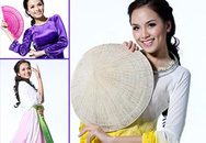 Diễm Hương dịu dàng với trang phục 3 miền