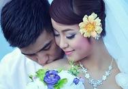 Mi Vân rất dịu dàng trong ảnh cưới