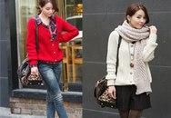 Những dáng áo len bạn gái đẹp nhất