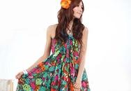 Váy hoa cho mùa hè thêm rực rỡ