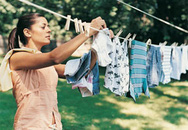 Mẹo giặt giảm bớt nếp nhăn quần áo