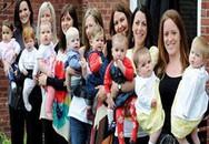 7 bà mẹ cùng phố sinh con liền nhau