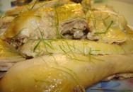 Nhận biết gà bơm nước và nhuộm vàng