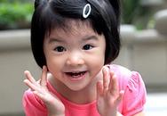 Con gái Trương Ngọc Ánh tinh nghịch