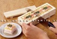 Khuôn gỗ làm sushi nhanh và ngon mắt
