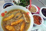Bún suông thơm lừng đường Nguyễn Thái Học