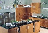Bếp nấu không nên thẳng cửa chính