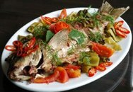 Món ăn từ cá bổ cả âm, dương