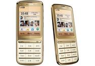Điện thoại 'chạm và bấm' mạ vàng của Nokia
