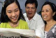 Cô gái Việt được ba trường trải thảm